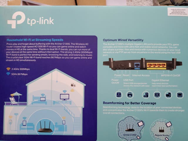 Router TpLink nuevo