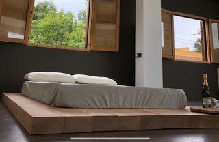 Tatami cama japonesa madera elondo