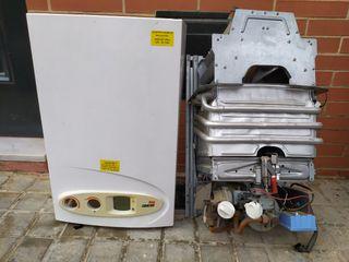 calentador de gas solar