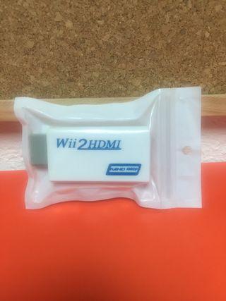 Adaptador WII a HDMI FullHD 1080p