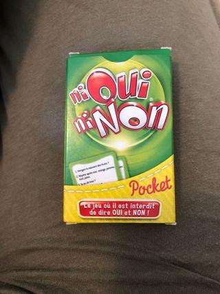 Jeu de carte : ni oui ni non