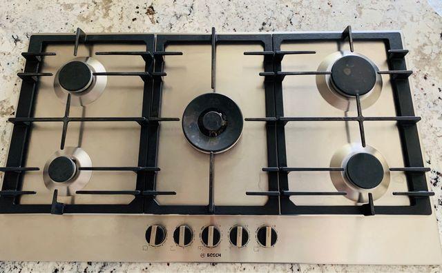 Placa cocina gas Bosch