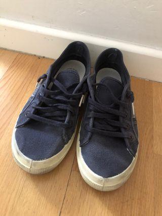 Zapatillas de lona natural world