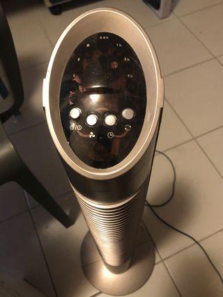 Ventilateur colonne +télécommande