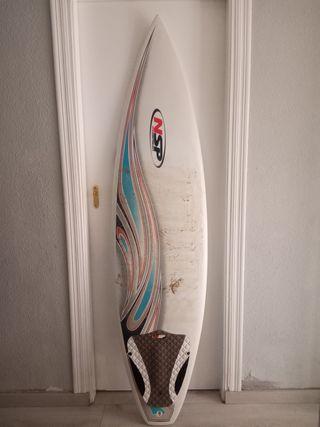 Tabla de surf NSP Shortboard 6'2