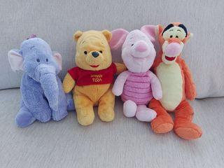 Peluches Winnie the Pooh y sus amigos