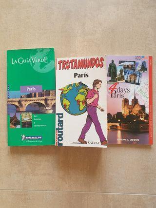 Guías de viaje París. Trotamundos, michelín