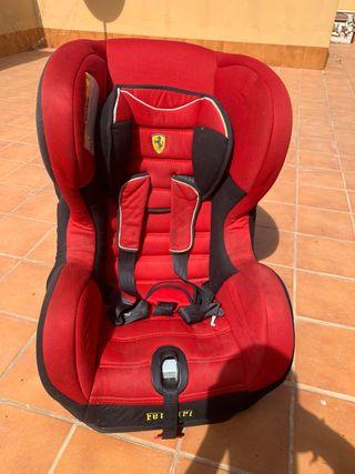 Silla bebé coche Ferrari