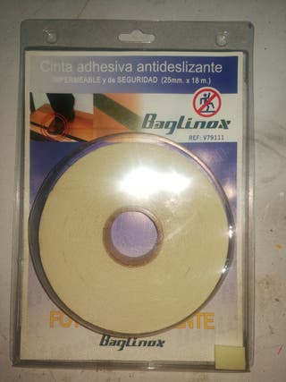 Cinta adhesiva antideslizante fotoluminiscente