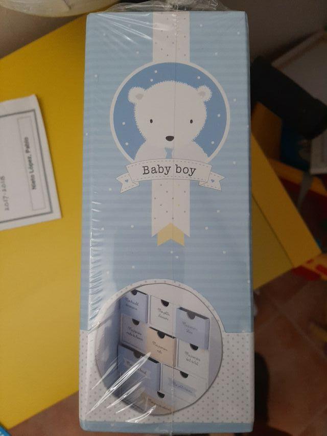 """caja """"recuerdos de bebe"""""""