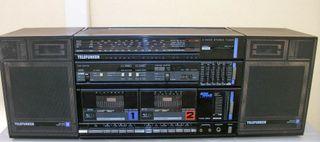 Radio cassette Telefunken HP204