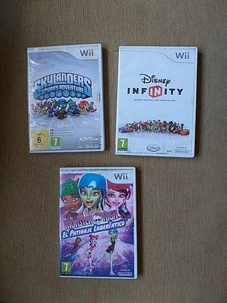 Juegos Wii, 3 euros cada uno
