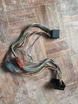 Cableado auto radio e46