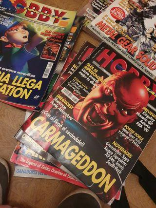 revistas hobby consolas viejas