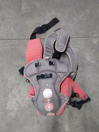 mochila trasporte bebe