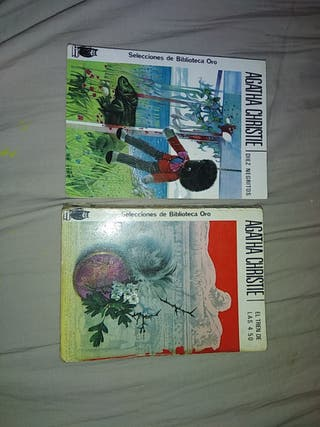 2 novelas de Agatha Christie