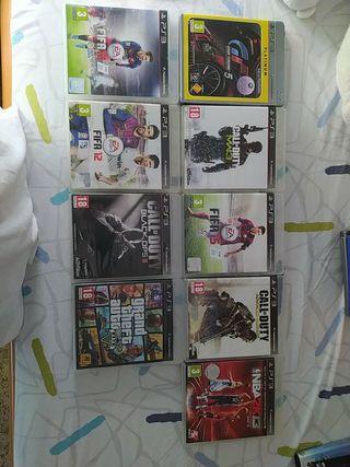 Vendo juegos de PlayStation 2,3,4, Psp Vita y PC
