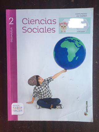 Libro escolar de 2primaria de Sociales