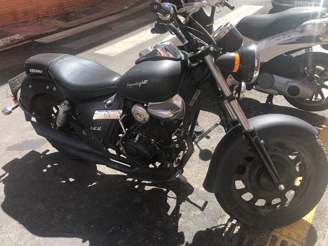 Venta moto 125 Keeway superligth