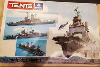 TENTE los intrepidos navíos