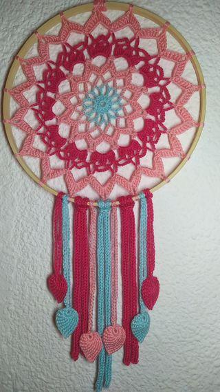 Atrapasueños crochet