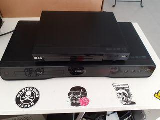 Blu ray Philips y DVD LG USB