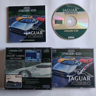 Jaguar XJ220 Mega CD