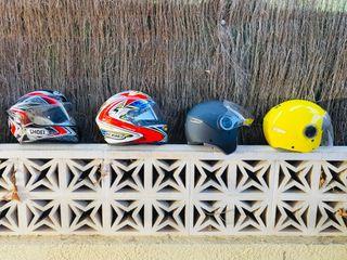 Vendo lote 6 cascos
