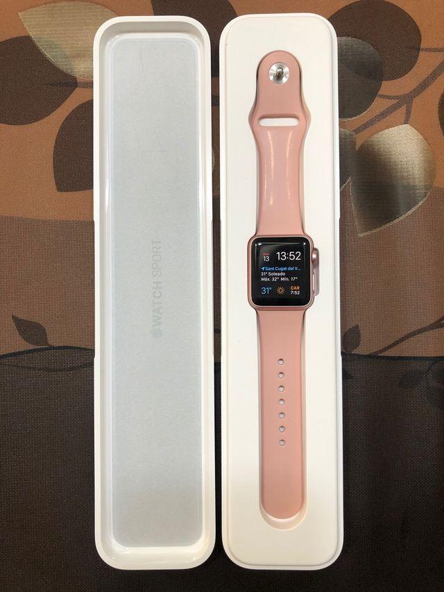 Apple Watch Series 1 Rose Gold de 38 mm de segunda mano por 150 € en Sant Cugat del Vallès en ...