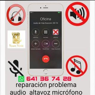 Reparación problema audio iPhone 7 y 7plus