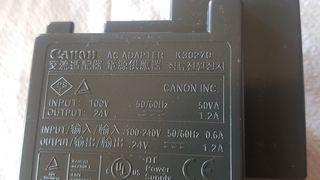 fuente Canon k30270 24v 1.2A DC