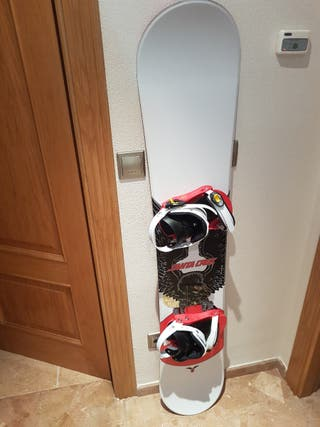 Tabla Snowboard + botas + funda
