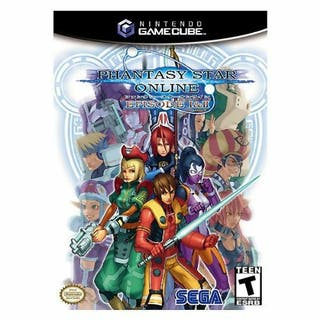 Phantasy Star Online Gamecube