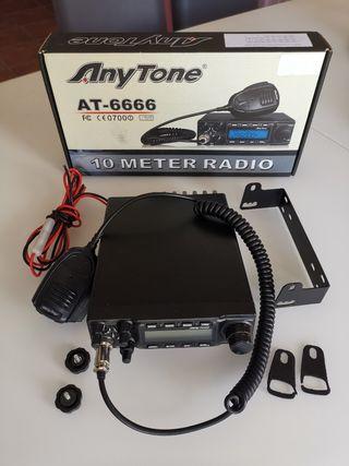 cb radio anytone 6666