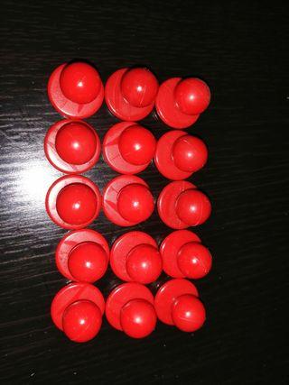 botones Chaqueta cocinero