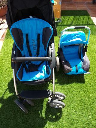 carrito bebé y niño.