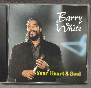 BARRY WHITE CD YOUR HEART AND SOUL