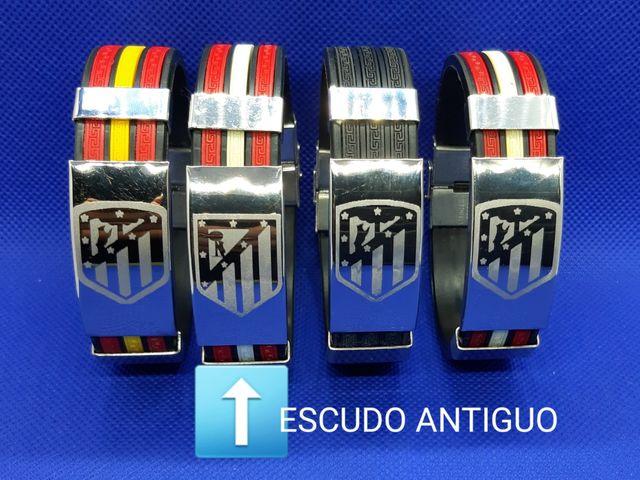 3X21€ PULSERAS ATLÉTICO DE MADRID
