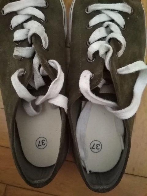 zapatillas inesis, de piel, talla 37, Decathlon
