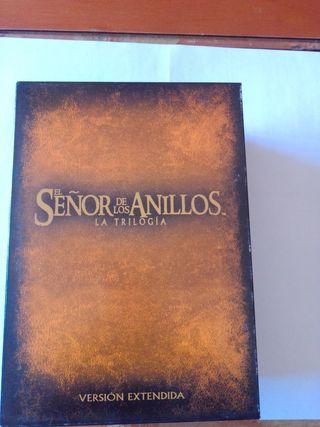 El Señor de los Anillos. Trilogia V extendida. DVD