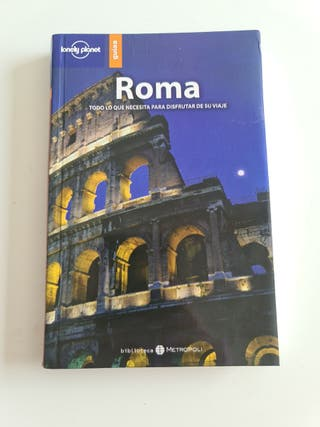 Guía lonely planet de Roma