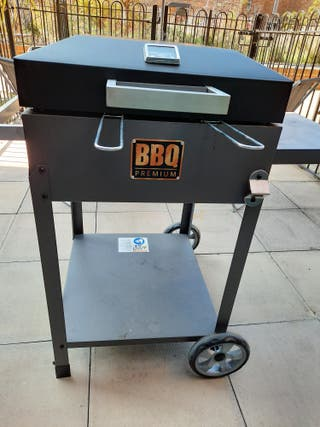 Yakoee 90010 CHARCOAL BBQ +COVER+ THERMOMETER