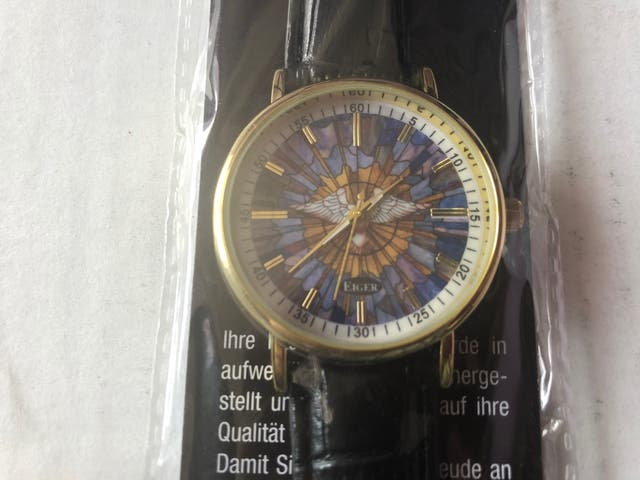 Classic Gold Plated Wrist Watch