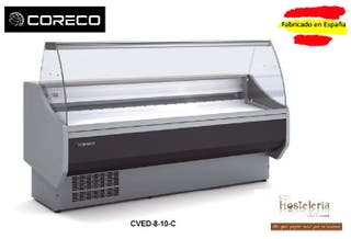 VITRINA EXPOSITORA CORECO mod. CVED-8-10-C