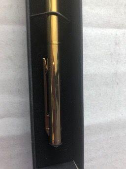Gold Plated Byro with Swarovski Elements