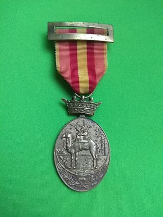 Antigua medalla militar IFNI Sáhara época franco