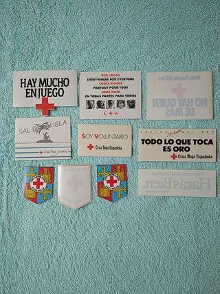 PEGATINAS CRUZ ROJA ESPAÑOLA