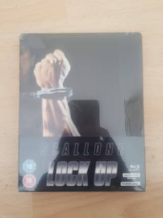 Lock up 4K ULTRA HD Blu Ray STEELBOOK New&Sealed