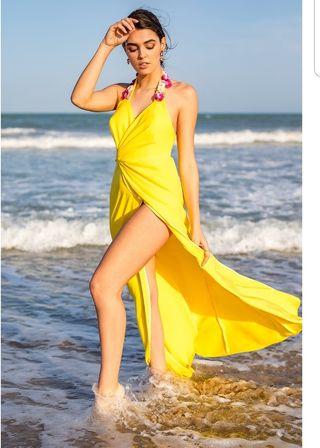 Vestido Silvia Navarro diseñadora