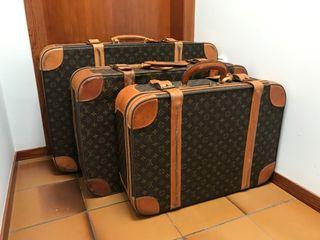 Colección maletas Louis Vuitton Original Vintage